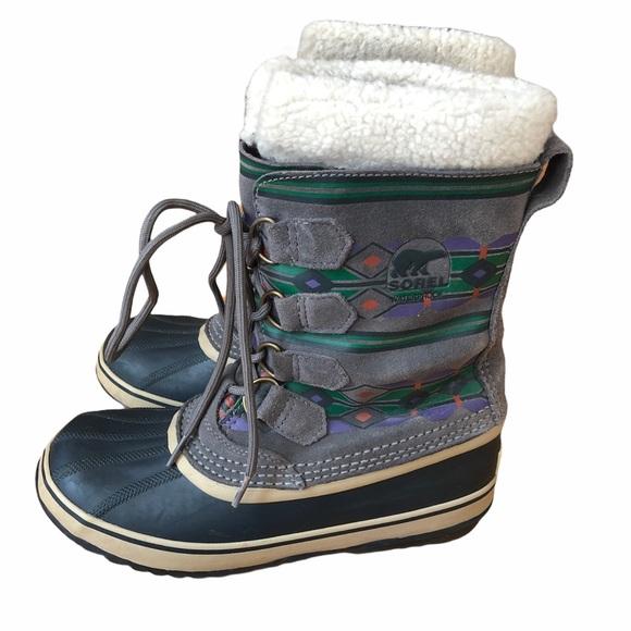 Sorel Waterproof Winter Boots 8